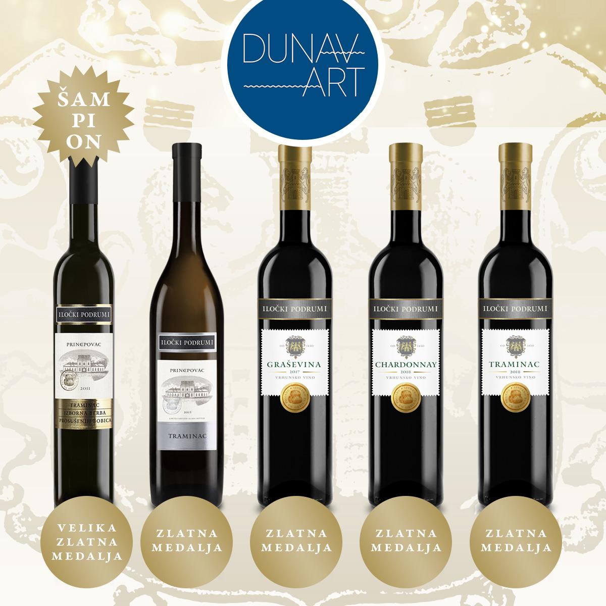 Degustacija vina iz dublina
